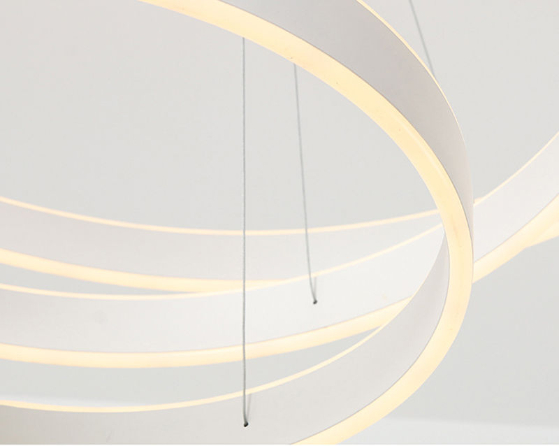 HTB13NHrbIyYBuNkSnfoq6AWgVXaG AC90-264VModern pendant lights for living room dining room Geometry Circle Rings acrylic aluminum body LED Lighting ceiling Lamp