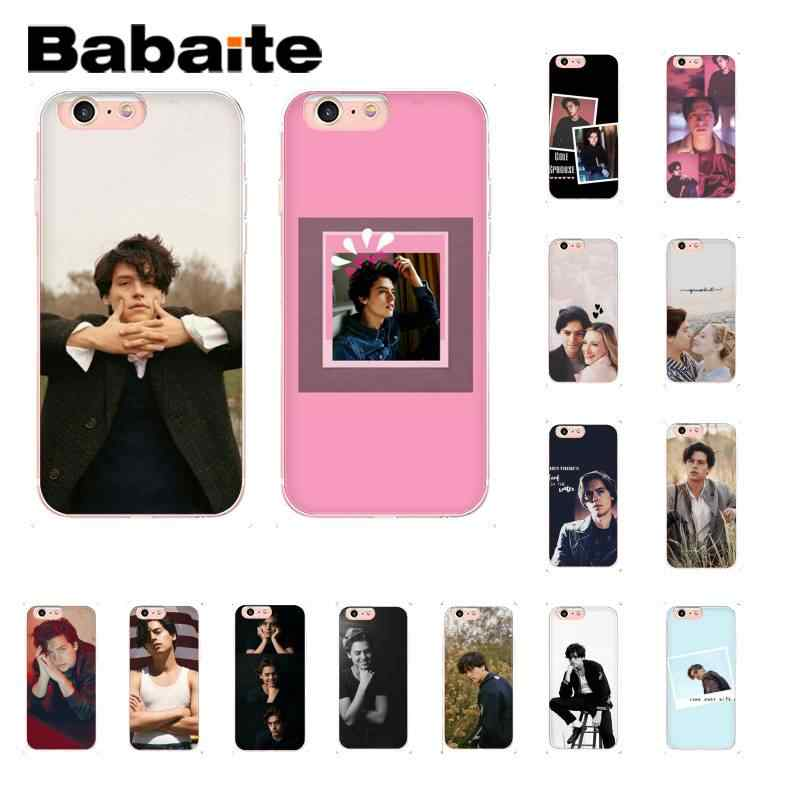 Babaite American TV Riverdale Cole Sprouse Customer Phone Case for iPhone8 7 6 6S 6Plus X XSMAX 5 5S SE XR 10 11 11pro 11promax
