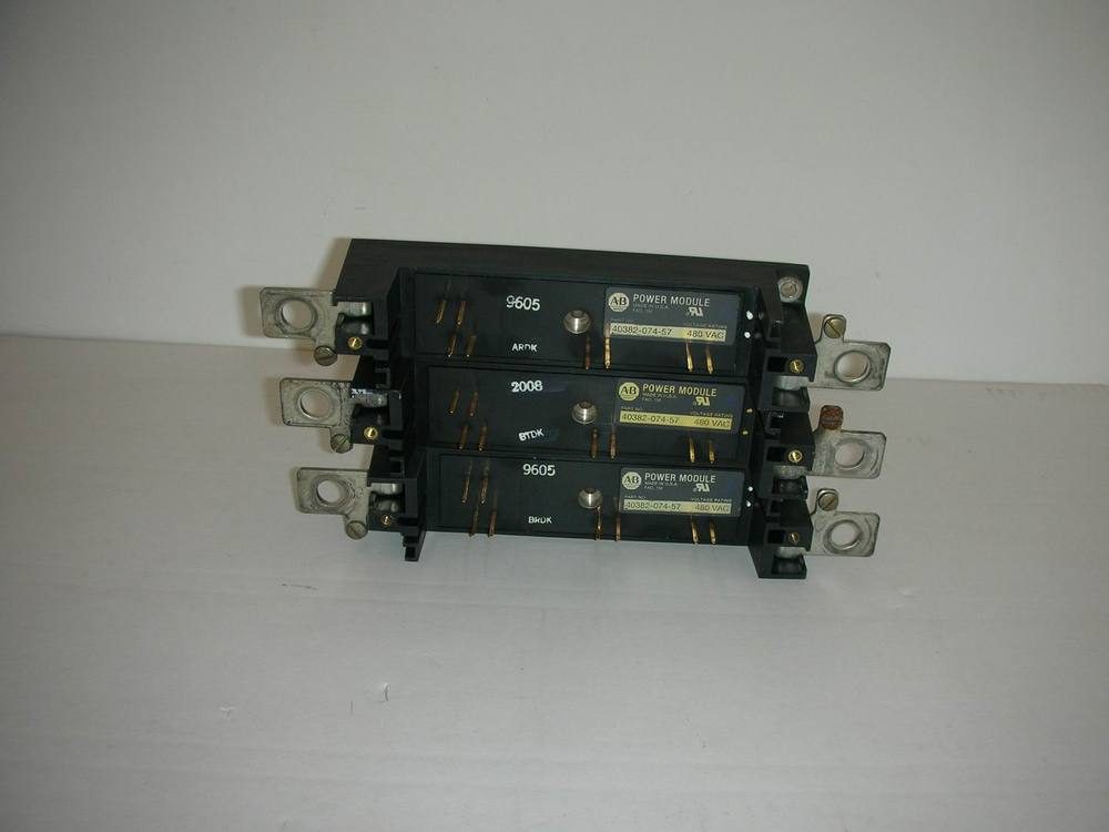 1PC USED AB POWER MODULE 40382-074-57 цена