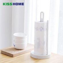 2 Color Creative Kitchen Paper Hanger Sink Roll Towel Holder Organizer Rack Removable Table Storage Shelf