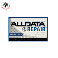 DHL free All data ALLDATA 10.53 + 24 in 1 car repair database software + 1T hard drive