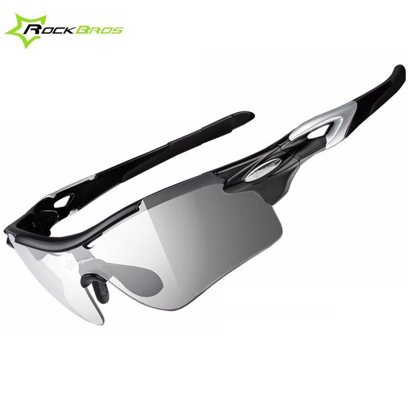 cb3fb8ef1af ROCKBROS Polarized Photochromic Cycling Sunglasses UV Protection Bicycle  Eyewear Goggles Sport Glasses Cycling Glasses