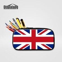 Dispalang женские многофункциональные косметички 3D Национальный флаг канцелярские принадлежности Детская гелевая ручка сумка для девочек и мальчиков пеналы для студентов