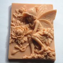 Wholesale Soap Molding Dies Clay Craft Making salt carving Ingraving Silicone Mold Concrete Mould