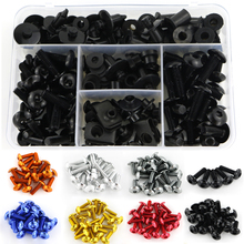 For Honda CBR500R CBR600F CBR650F CBR650R M5 M6 Fairing Clips Complete Full Bolts Kit Windshield Speed Nuts Screw