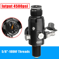 NEW 5/8 Inch 18UNF Thread Paintball Valve Regulator 4500psi HPA Air Tank Output 1800psi