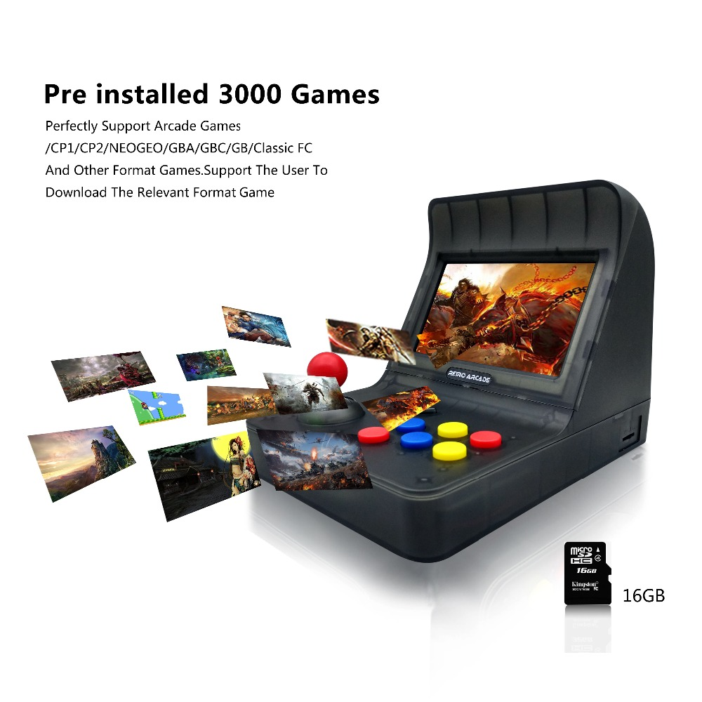 ANBERNIC Mini TV Games Console 64 Bit Retro Video Game Console Built In 3000 Games Gamepad  Handheld Gaming Player Best Gift