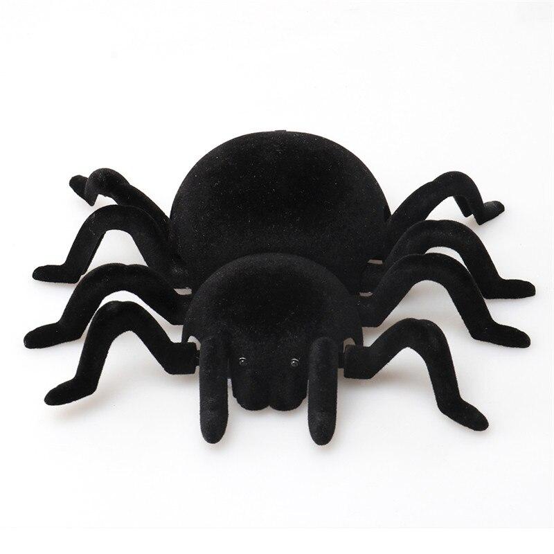 Дистанционное управление стены скалолазание криперы паук игрушки для Хэллоуина шалость реалистичные страшные трюки