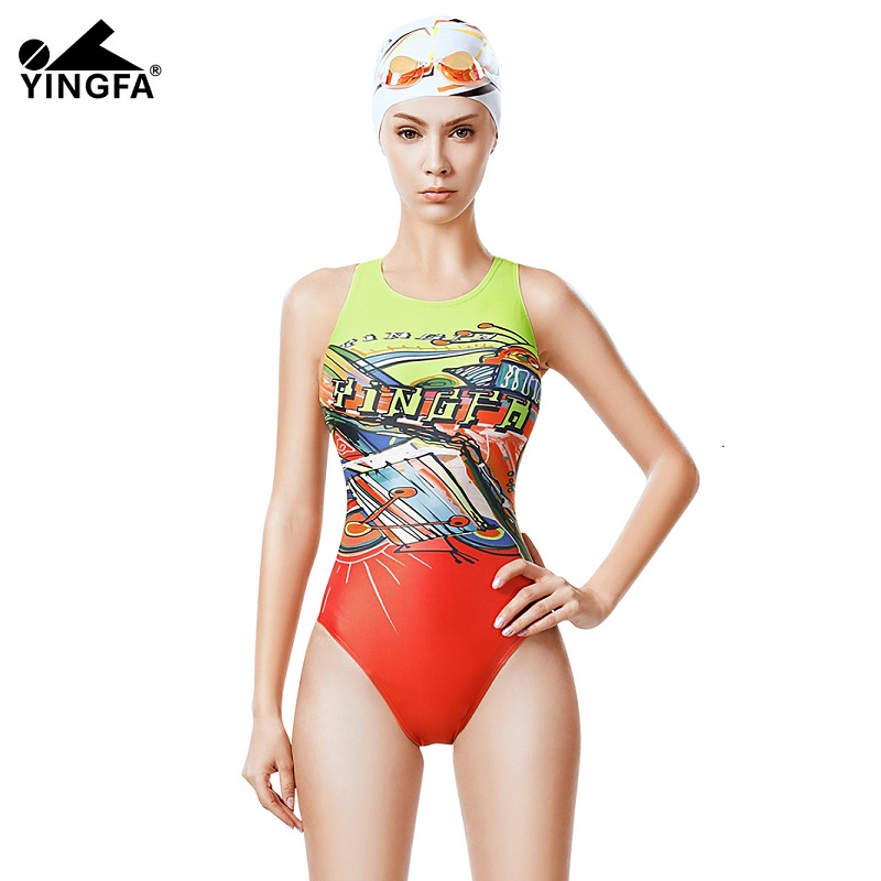 6253ac290e9 Yingfa swimsuits racing competition swimming competitive trainning swim  suits