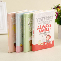 Diary Agenda 2016 Cute Korean Stationery Kawaii And Cute Notebook Lovely Red Hat Girl Week Day