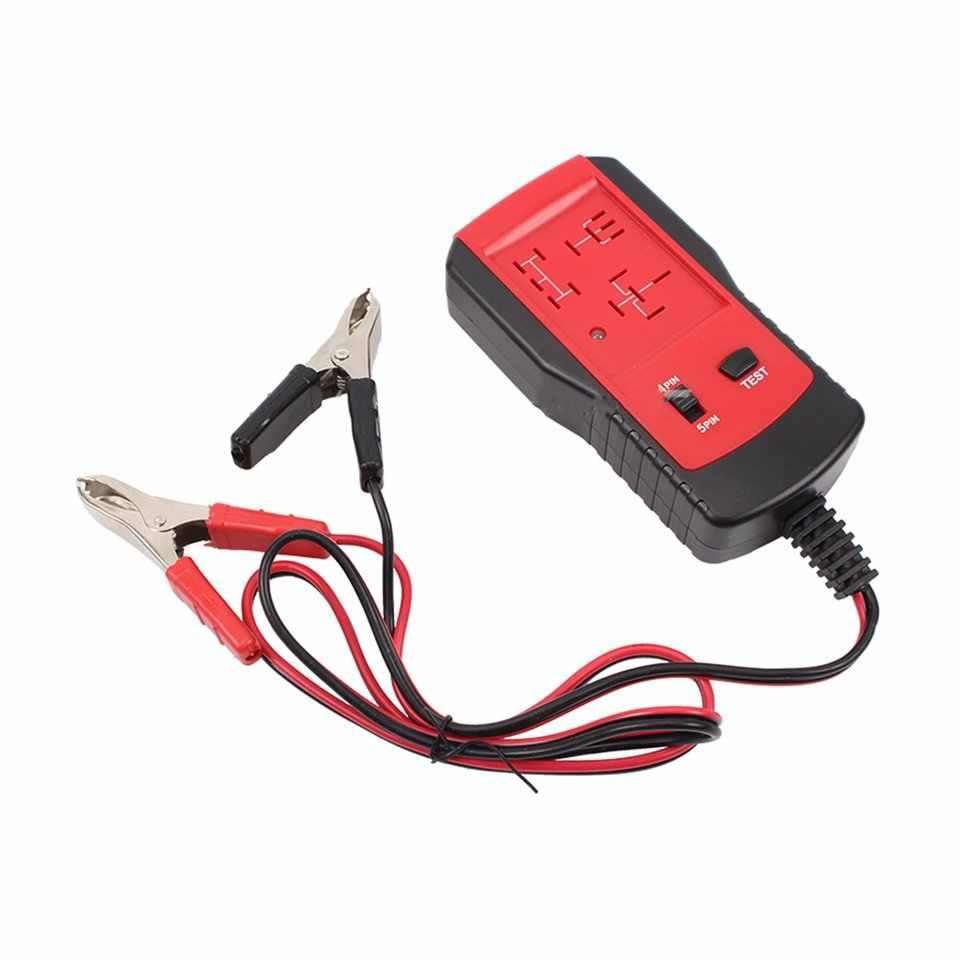 color tree 12V Automotive Relay Tester Car Diagnostic Battery Checker Analyzer Tool