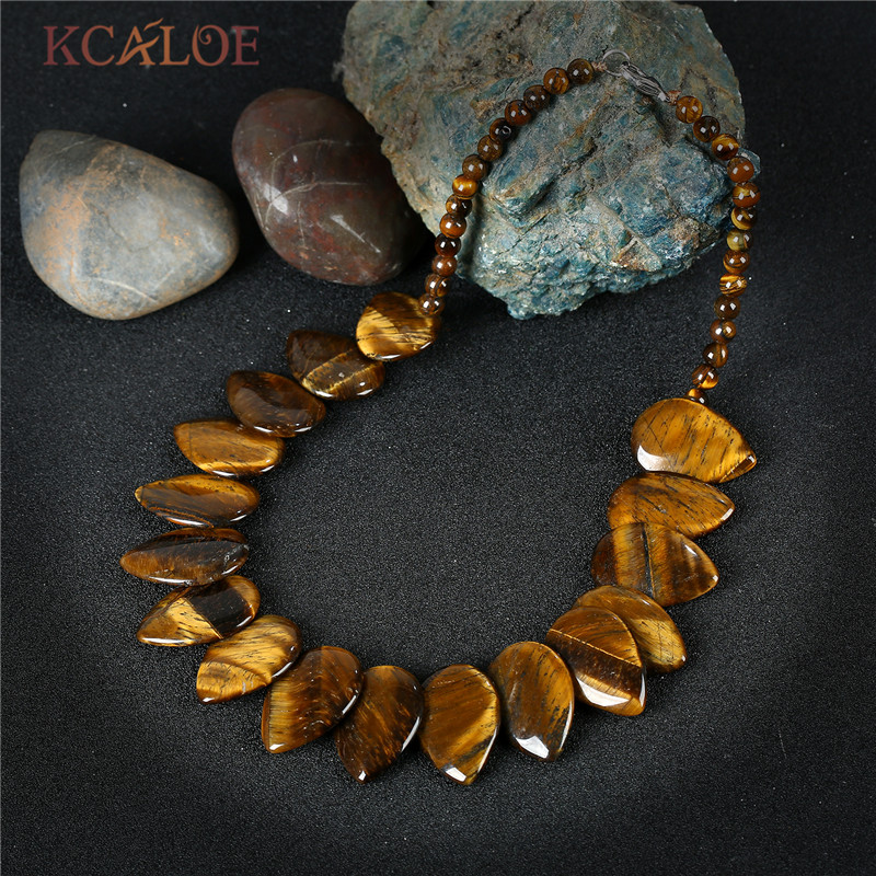 healing gems tiger eye necklace s natural premium necklaces tigers jewelry gemstone
