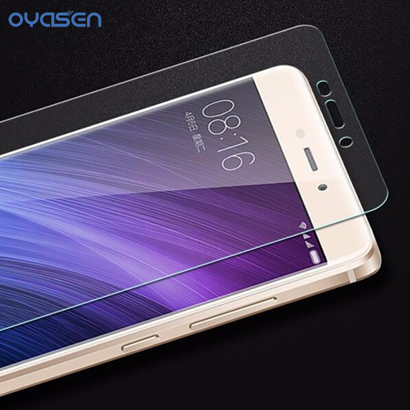 9H 2.5D Premium Tempered Glass for Xiaomi Redmi 4 Pro Glass Ultra-Thin Transparent TPU Phone Case for Redmi 4 4A Pro