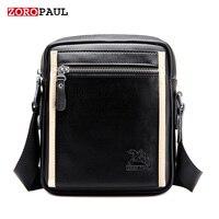 ZOROPAUL HOT Sales Fashion Business Leather Handbag Men S Messenger Vintage Shoulder Bag High Quality Designer