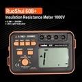 RuoShui 60B + 1000V Digitale Auto Range Meter Tester Megohmmeter Megger Hohe Spannung Led anzeige-in Widerstands-Messgerät aus Werkzeug bei