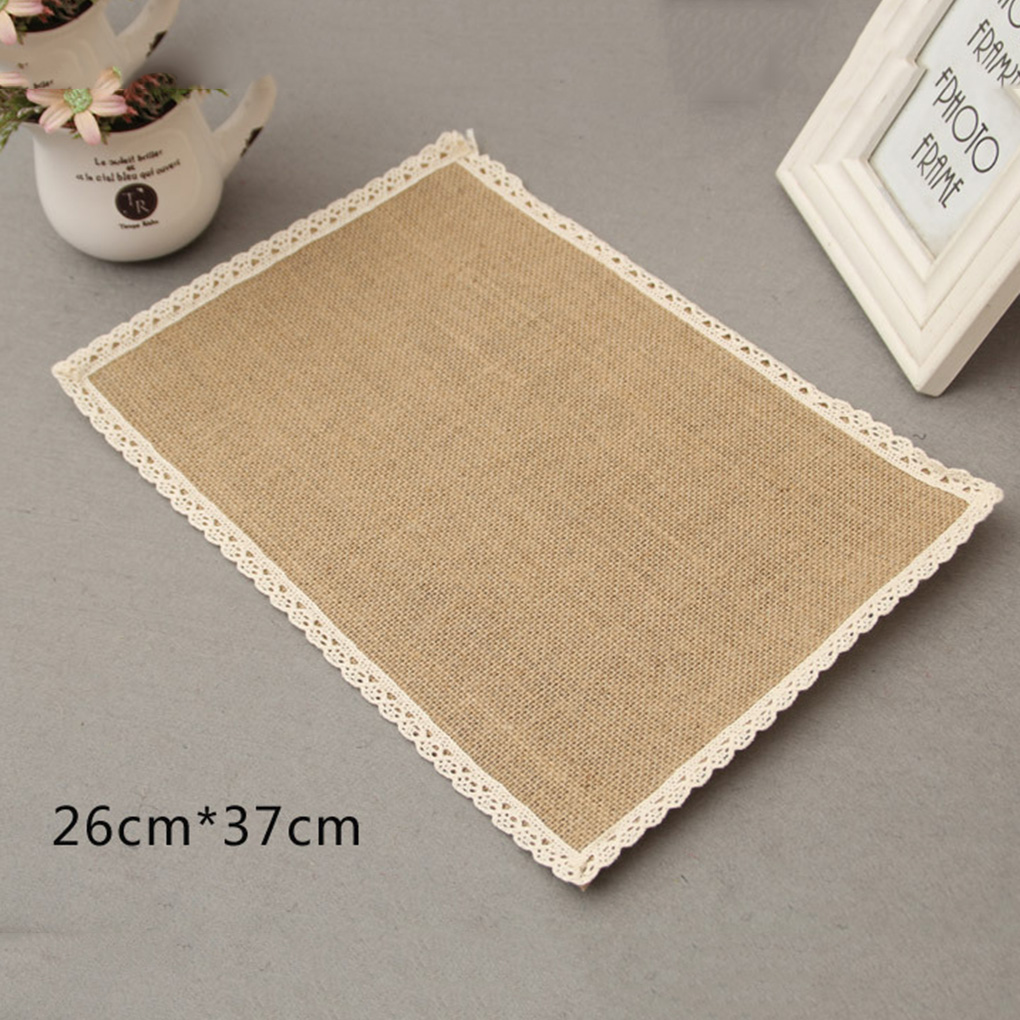 online get cheap modern drink coasters aliexpresscom  alibaba group - drink coasters linen cup drink coasters linen bowl pad wedding partydecoration(china (mainland