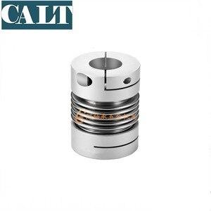 Высокий крутящий момент сильфонные муфты CNC провода полюс шаг двигателя Серводвигатель эластичные пружинные муфты