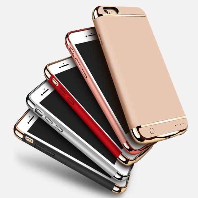 Внешнее Зарядное Устройство Телефона Случаях Для Iphone 7 Power Bank Чехол Для Iphone 7 Plus Телефон Аккумуляторная Случаях