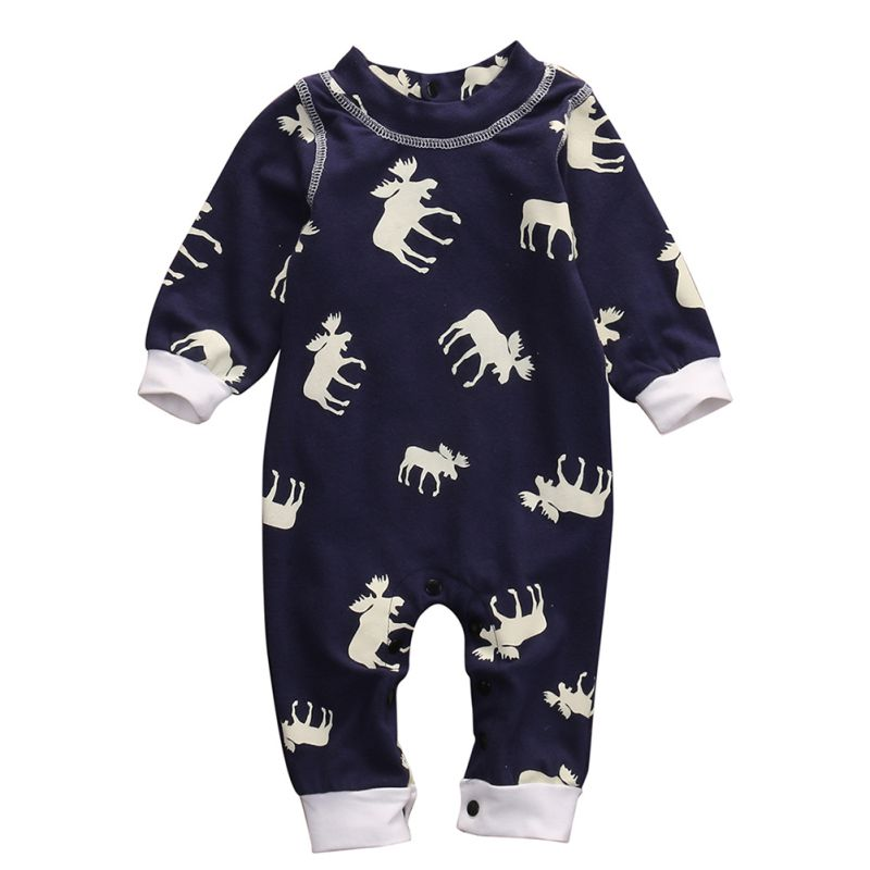 Baby Romper Jumpsuit Clothes Sleepsuit Outfits Newborn Infant Baby Boy Girl Long Sleeve Fashion Clothing newborn infant girl boy long sleeve romper floral deer pants baby coming home outfits set clothes