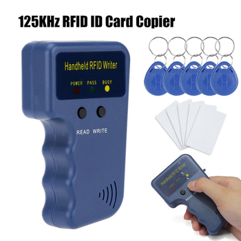 125 кГц RFID Дубликатор Копир Писатель программист считыватель писатель ID карты Cloner & key