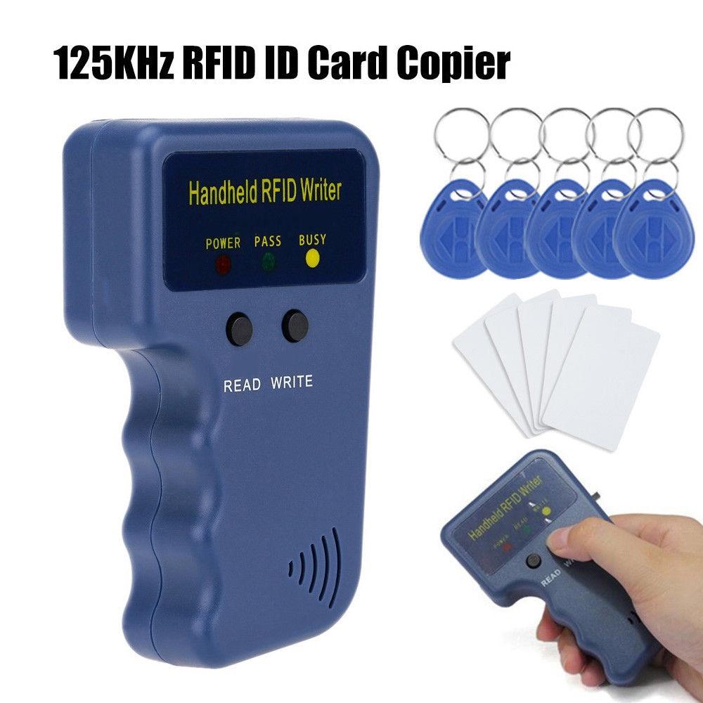 125 khz rfid duplicador copiadora escritor programador leitor escritor cartão de identificação cloner & chave