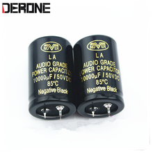 2 piece  nover audio Capacitor 10000uf 63V for power amplifier dac CD preamplifier  Filter capacitor free shipping