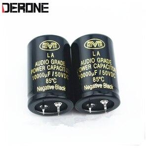 Image 1 - 2 sztuka nover kondensator audio 10000uf 63V dla wzmacniacza mocy dac CD przedwzmacniacz filtr kondensator darmowa wysyłka