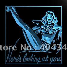 LK361-девушки смотрите на вас Бар Пиво светодиодный неоновый свет знак
