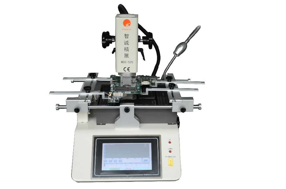 SZBFT New mobile phone repairing and soldering stations BGA WDS-520 with Samsung/iphone full set stencils