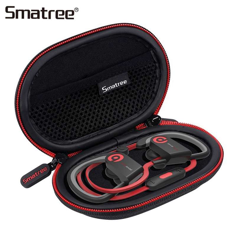 Smatree Earphone Storage Bag Black Bluetooth Wireless Headphone Hard Case Headset Boxes For Sony Earphone ForAKG Earphone