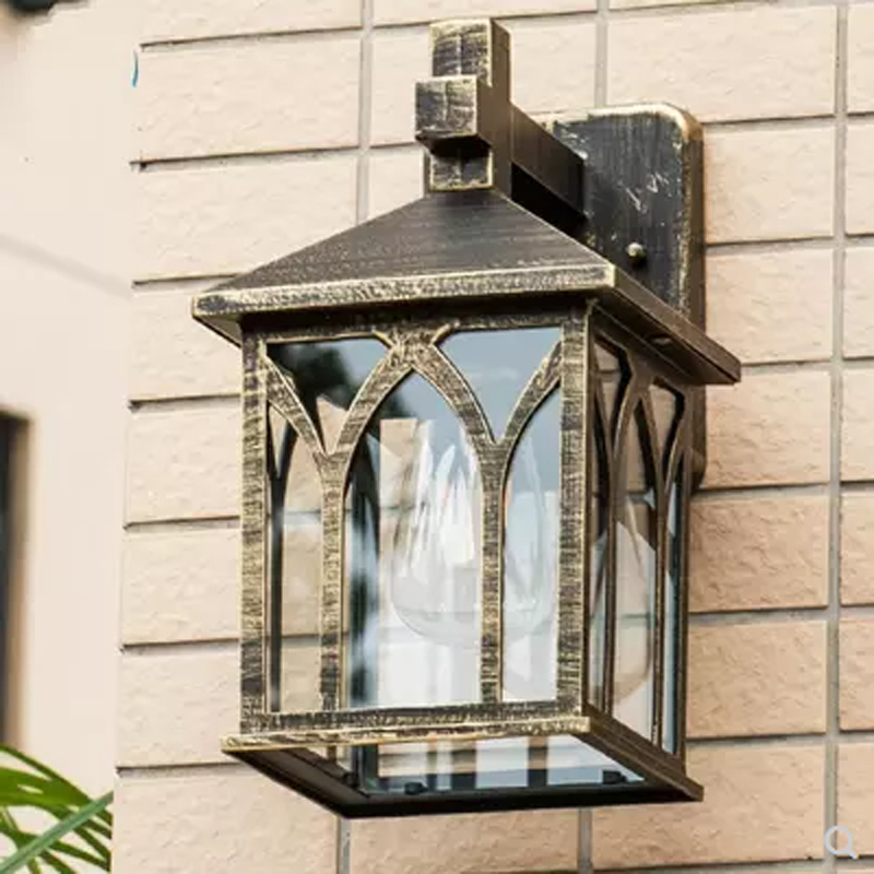 lampada europeu simples lampada de parede 02