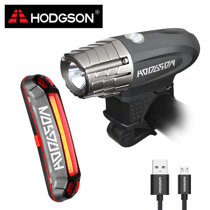 HODGSON USB Rechargeable Bike Light LED Waterproof Front ...