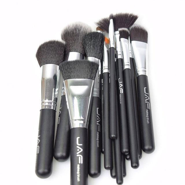 JAF 15pcs Makeup Brushes Tools, Conveniently Portable Make Up Brush Set, Brand Cosmetic Makeup Kit, Free Dropshipping J1531YC-B 3