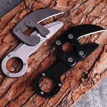 Hunting Knife CS GO Tactical Claw Neck Knife Camp Hike Outdoor Self Defense Offensive Hunting Survival Tools Knife(China)