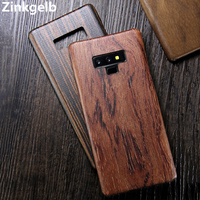 For Samsung Note 9 Case Cover Luxury Slim Ultra Thin Hard Natural Wood Shockproof Armor Phone Case for Samsung Note 8 Back Cover