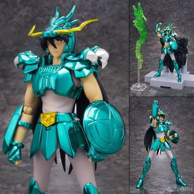 Original <font><b>Bandai</b></font> D.D.PANORAMATION scene <font><b>saint</b></font> <font><b>seiya</b></font> <font><b>myth</b></font> <font><b>cloth</b></font> shiryu <font><b>Seiya</b></font> action figure Collectible Ver Model 10CM image