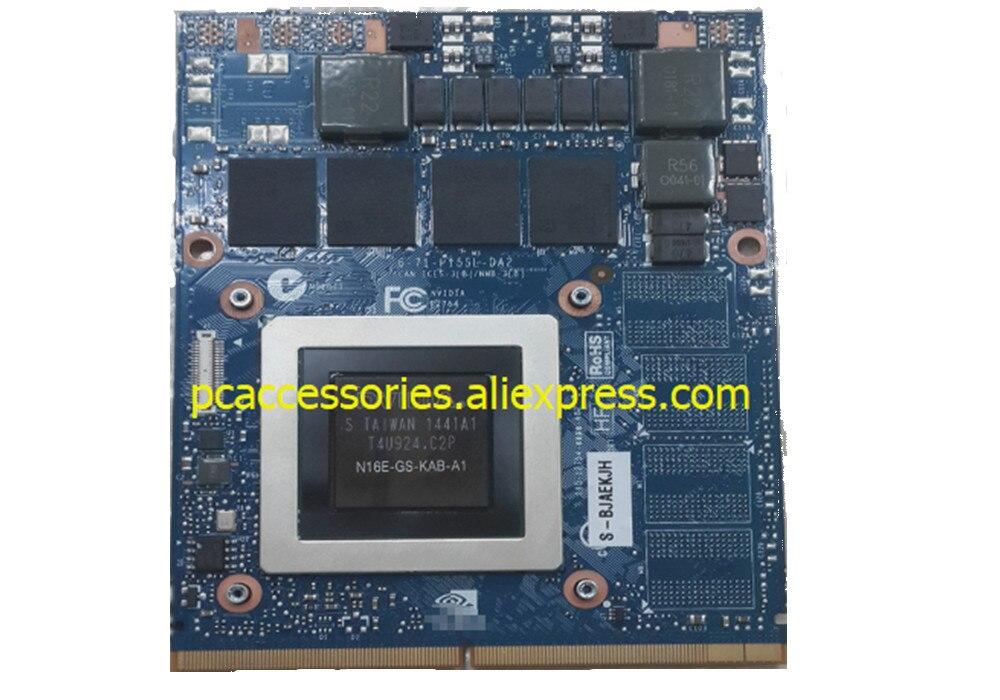 Carte graphique GTX 965 M N16E-GS 4 go pour ordinateur portable DELL MSI Clevo