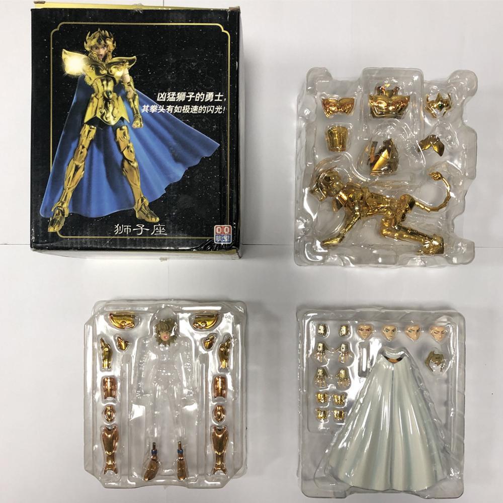 QQ model Saint Seiya Cloth Myth EX Gold Leo Aiolia models metal cloth no body
