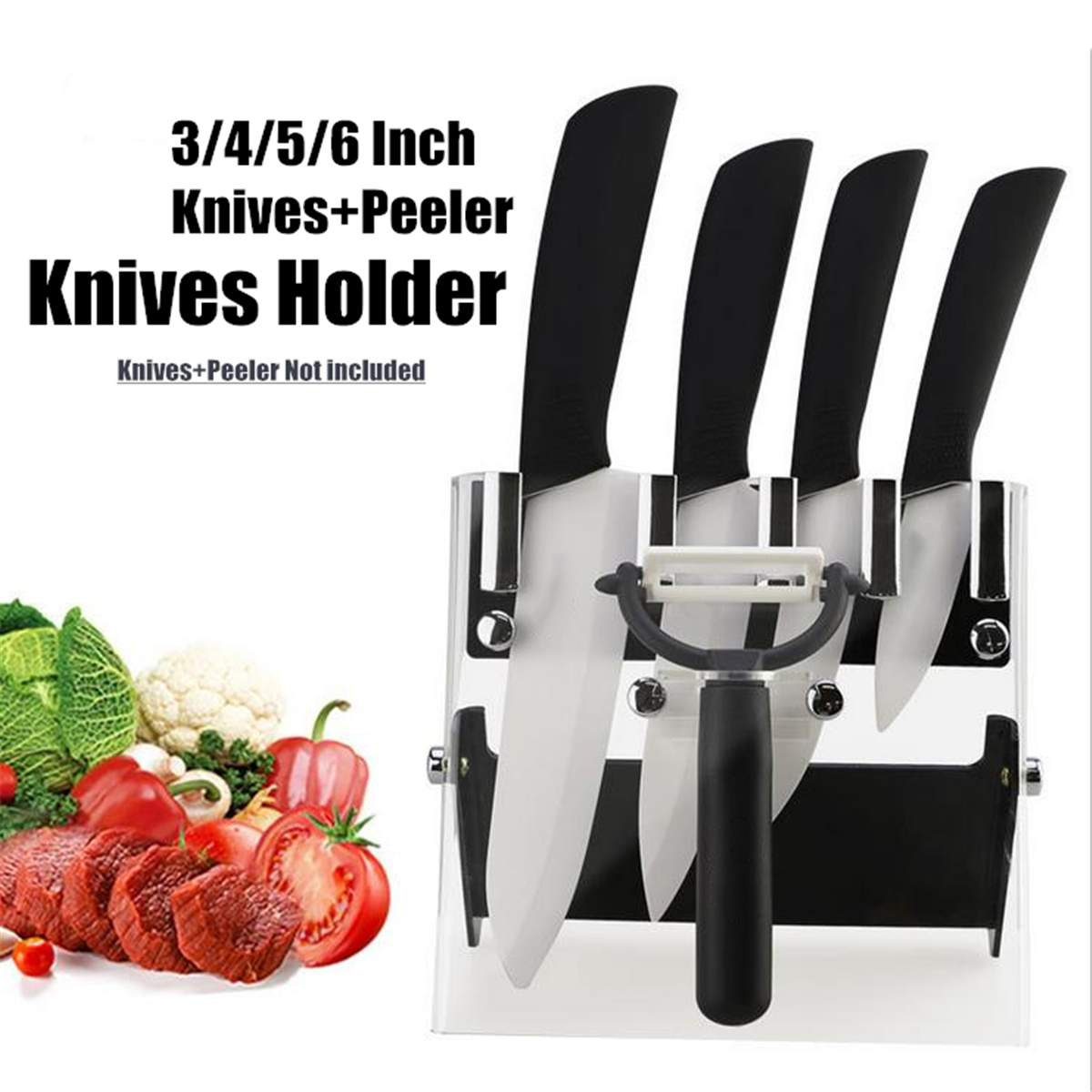 Kitchen Acrylic Knife Rack…