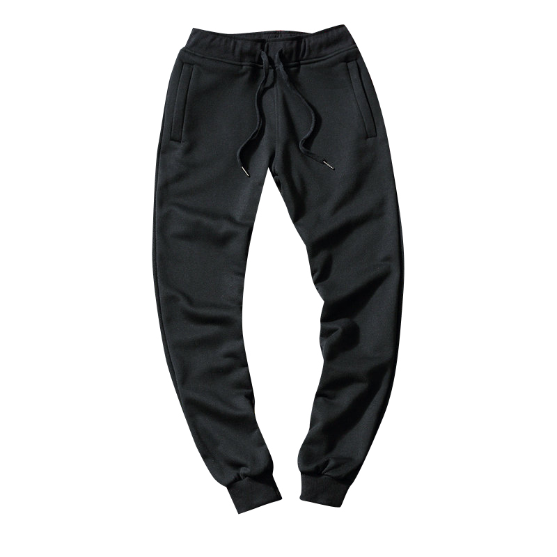 2017 New Winter Men Pants Warm Plus Cashmere Pencil Harm Pants Solid Color Fashion Style Mens Trousers Plus Size M-5XL