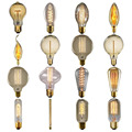16 Shapes Vintage Edison Bulb Retro Lamp E27 40W Incandescent Light Bulb DIY lampada edison lamps E27/220V lamp For Pendant Lamp