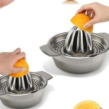 Mini Home Appliances Juicer Handheld Orange Lemon Juice Maker Stainless Steel Manual Squeezer Press Citrus