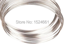 Silver Plated Memory Beading Wire for