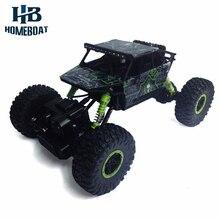 RC Car 2.4G 4CH 4WD Rock Crawlers 4×4 Driving Car Motors Drive Bigfoot Car Remote Control Car Model Off-Road Vehicle Toy