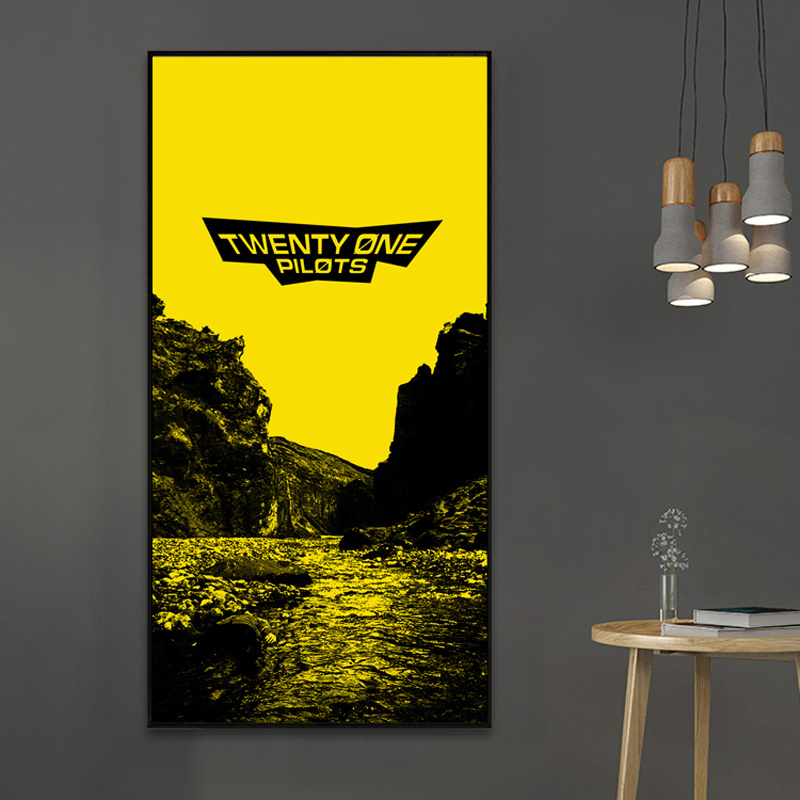 Twenty One Pilots Fabric Poster Canvas Painting Abstract Oil Chinese Wall Pictures Print Art Canva With Free Shipping Worldwide Weposters Com