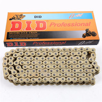 520 Pitch 120 Link Motorcycle Chain Gold Heavy Duty Ring Drive Chains For MX Dirt Pit Bikes BMW Honda Yamaha Suzuki Kawasaki