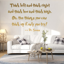 Exquisite English Sentence Waterproof Wall Stickers Art Decor For Kids Rooms Decoration