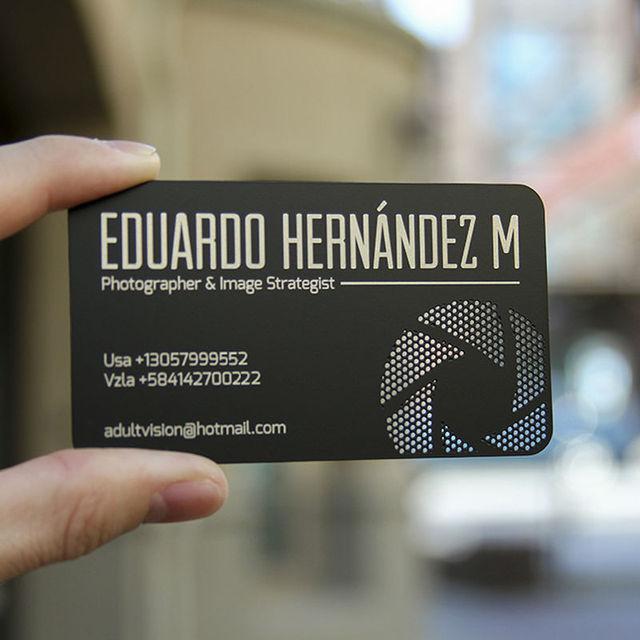 Metal card design personalized custom metal membership card