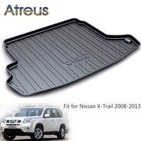 Atreus Car Rear Trunk Floor Mat Durable Carpet For Nissan X trail T31 2009 2010 2011 2012 2013 Boot Liner Tray Anti slip mat