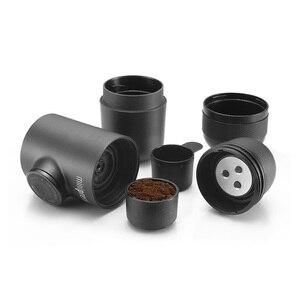 Image 5 - Wacaco Minipresso GR, портативная кофемашина для эспрессо, совместимая с кофе на полу, компактная кофеварка для путешествий.